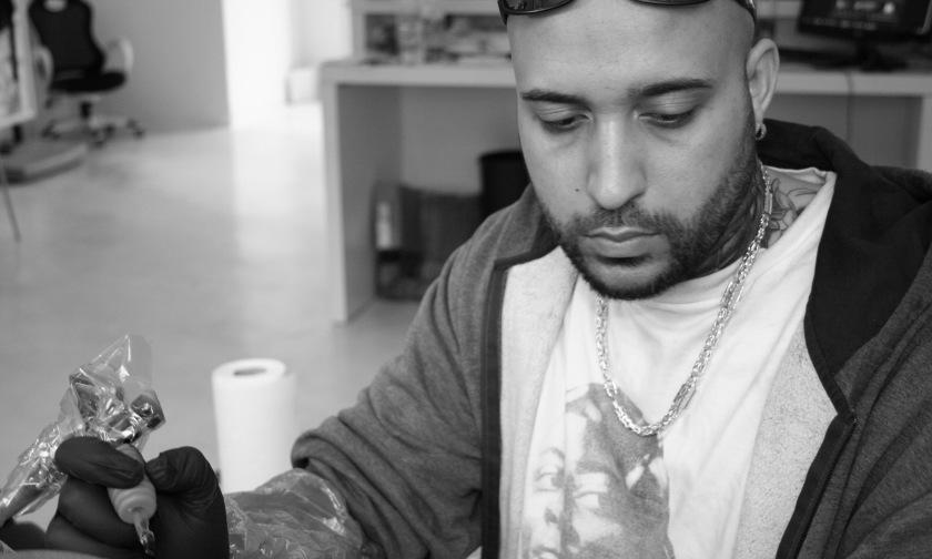 silv3rback silver  trenchart amsterdam tattooshop tatoeagezaak artiest giliano silver